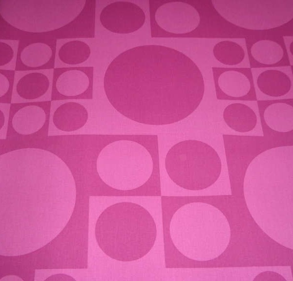 Verner Panton geometric textile for Unika Væv