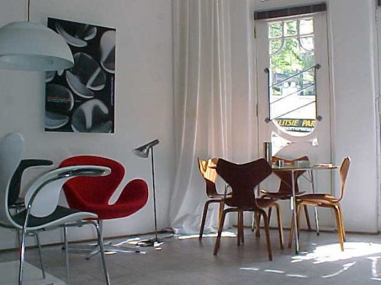 Arne Jacobsen Exhibition 2005 at Zitzo Amsterdam