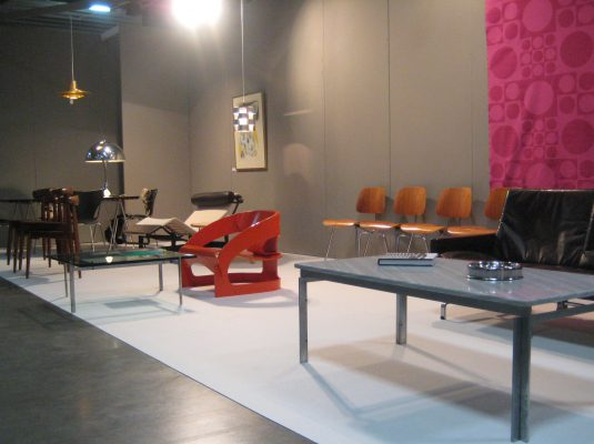 Zitzo booth at the Vintage Design Show 2011