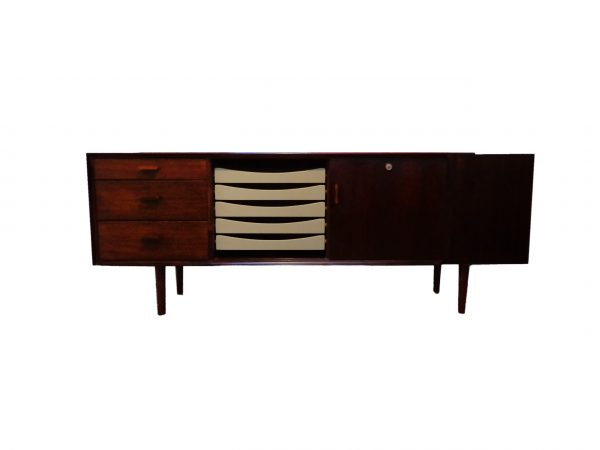 Danish Arne Vodder sideboard in Brazilian rosewood by Sibast Mobler 1960s