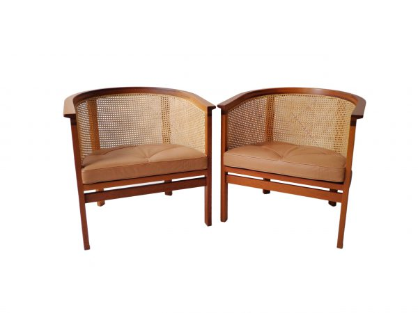 Rud Thygesen and Johnny Sørensen armchairs in mahogany and leather