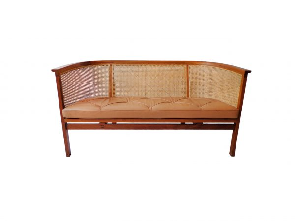 Rud Thygesen and Johnny Sørensen sofa in mahogany and leather