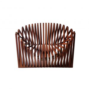 Robert van Embricqs, rising-folding lounge armchair