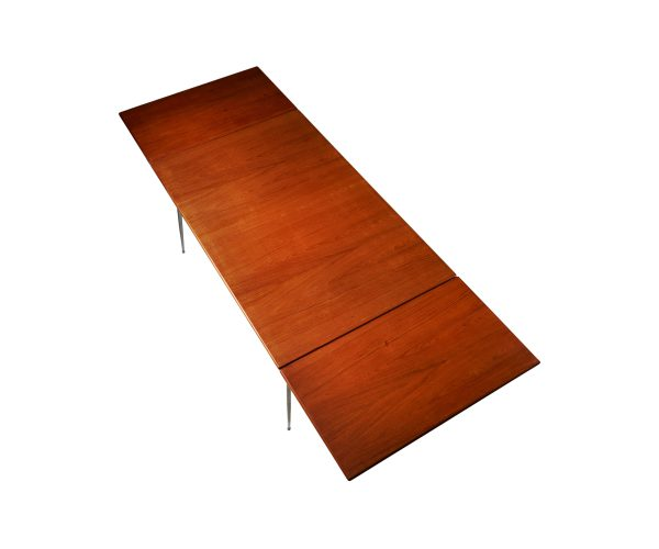 Børge Mogensen Danish Teak Drop-Leaf Desk Dining table for Soborg Mobler