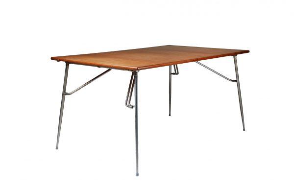 Børge Mogensen Danish Teak Drop-Leaf Desk Dining table for Soborg Mobler