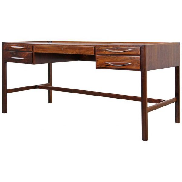 Kurt Østervig freestanding rosewood writing desk for Jason Møbler