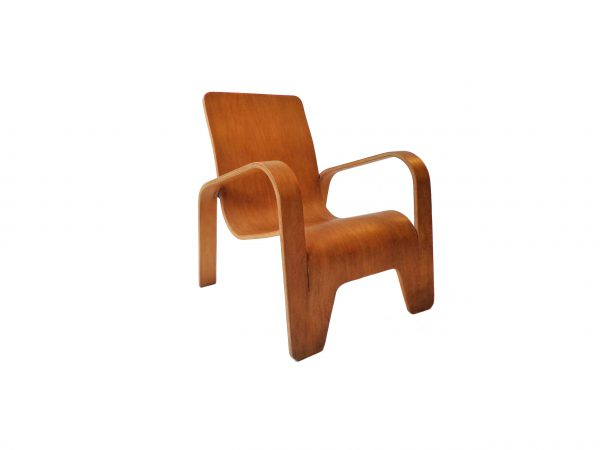 Han Pieck plywood lounge armchair for LAWO 1946