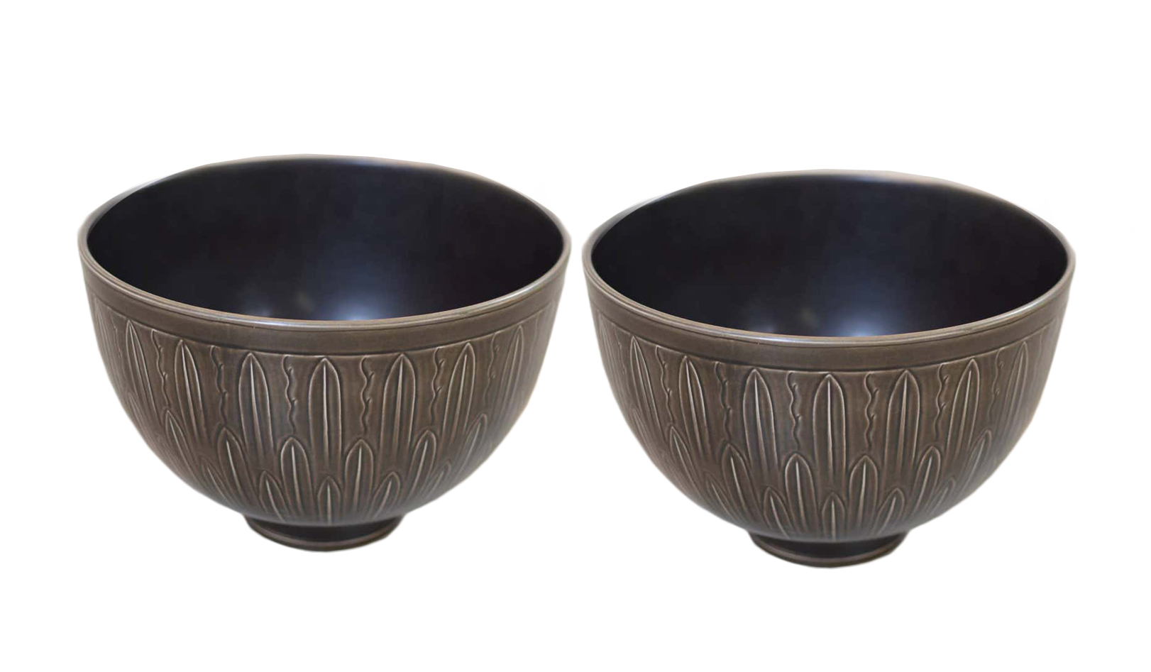 Nils Johan Thorvald Thorsson bowls 1930s