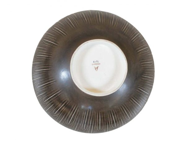 Very Large 1930s 'Solbjerg' Bowl by Nils Thorsson for Aluminia