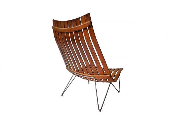 Hans Brattrud 'Scandia' Lounge Chair in rosewood 1957