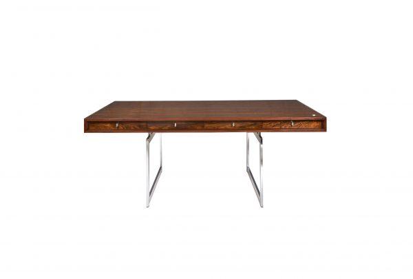 Bodil Kjaer Freestanding rosewood executive desk 1960s Danish