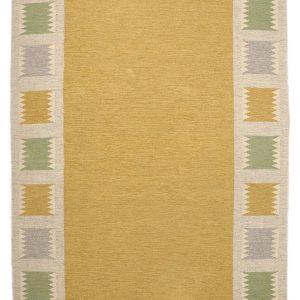 Birgitta Södergren Swedish carpet in röllakan 1950s