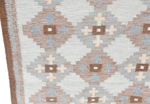 Evy Svensson flatweave carpet 1950s